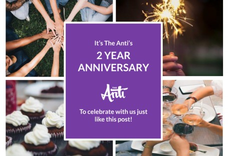 We're Celebrating Two Years at The Anti!