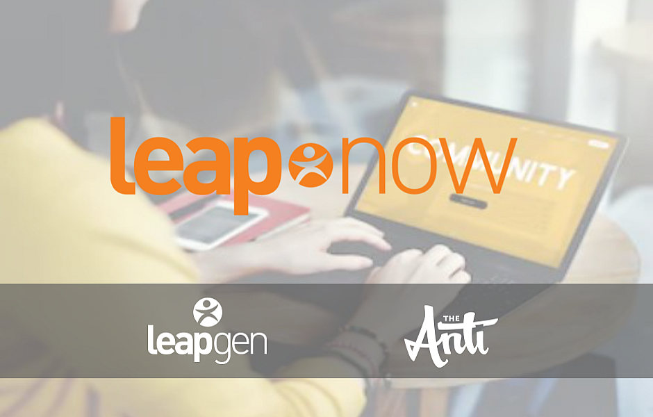 Leapgen responds to THE NOW of WORK with DIGITAL CONTENT, COACHING, and COMMUNITY